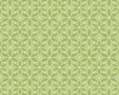 Mommy and Me Green Monotone Flower cotton fabric by Shelly Comiskey for Henry Glass and Company