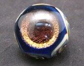 Handmade Dichroic Glass Vortex Marble