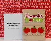 3 Teacher Appreciation Gift Card Holder Teachers LOVE Gift Cards