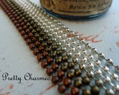 20 Ball Chain Necklaces 24 inches long Mix and Match Antique Copper, Antique Bronze, Silver, Antique Silver