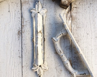Door Pull, SALE, Drawer Handle, Creamy White Home Decor,Cabinet Handle, Farmhouse Decor, Spanish Style, Barn Door Handle