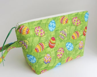 Spring Knitting Project Bag