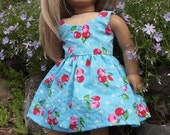 18 inch Dolls Clothes  - Girl Dolls Clothes   Summer Dress Classical Design - SALE
