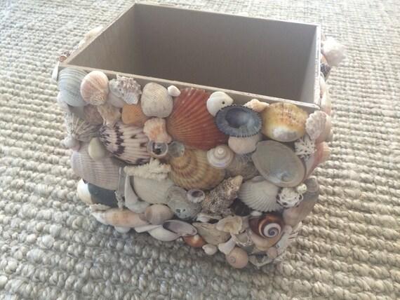 Seashell Wastebasket