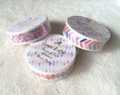 Aimez le Style Washi Masking Tape - Mozaic Puzzle / Mozaic Arrow / Mozaic Wave