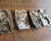 Featured - Steampunk supplies - Watch movements - Vintage Antique Watch movements Steampunk - Scrapbooking r5