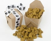 Fruit and Veggie Wheat-Free Dog Treats - Vegan, Handcrafted, All Natural -  4oz