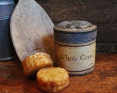 Pick A Scent Grubby Corn Cobs Scented Beeswax Melts, Primitive Bowl Filler, Farmhouse Kitchen Wax Melts, Wax Tarts Candle Melts Candle Tarts