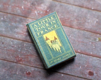 Miniature Book --- A Little Tour in France