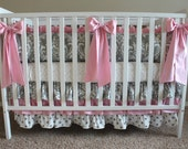 Boutique Style Decorative Crib Bows