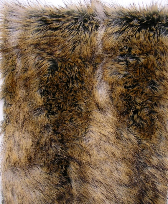RED FOX Fur SAMPLE For Faux Fur Cat Furniture. By