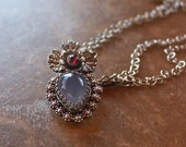 Blue Faery Necklace