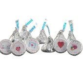 Valentine's Day Theme Small Candy Stickers (108)