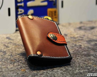 The Tanned Chain Squire Wallet - unisex
