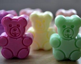 Mini Teddy Bear Soap - Soap for Kids - Baby Shower Favors