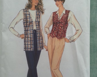 Easy Vest and Slacks multisize Simplicity 8662