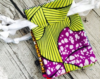 10 re-usable gift bag, pouch, drawstring bag, Jewellery bag made from African wax print