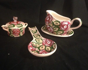 Country Rose spoon rest