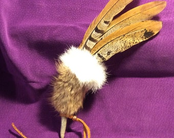 Simplicity Smudging Feather - 10 inches
