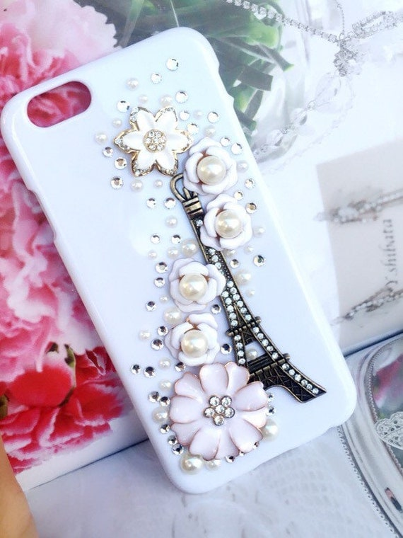 Winter Paris cell phone cover, fits iphone 4 5 6G. make to irder in ...
