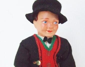 Norway Doll Bridegroom Hilda S Ege Mid Century