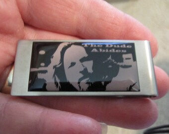 Lebowski The Dude Abides Money Clip