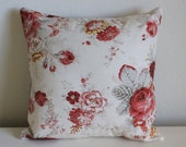 Norfolk Rose Floral Pillow Covers - Select Your Size