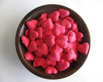 Heart Seed Bombs Red Wedding Favors - Wildflower Seed Bombs - Wedding Seed Bombs