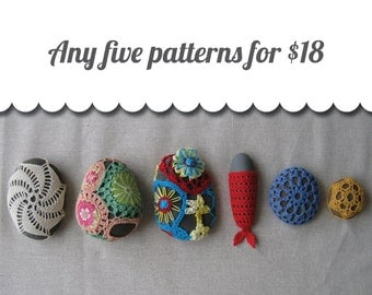 Discount Pattern Package: Choose Any 5