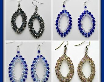 Raining on Prom Night Earrings PDF Pattern Instant Download