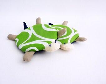 Coasters Turtle, Coasters, Cute Coasters, Drink Coasters, Handmade Coaster, Fabric Coasters - Set of 4