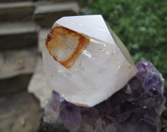 Natural Raw  Quartz Crystal Point/ Reiki Healing/Feng Shui / Altar Crystal/ Meditation Crystal