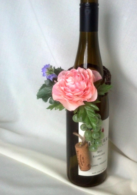 AmoreBride bridal shower favors Wine Bottle Topper
