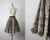 Praia da Luz skirt / 1950s circle skirt