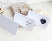Wedding Place Cards - White - Wedding Decor - Boho Decor  - Table Plan - Blank Place Cards - Eco Friendly - Escort cards - Boho Wedding