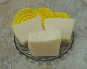 CLEARANCE Homemade Lemon Soap Scented