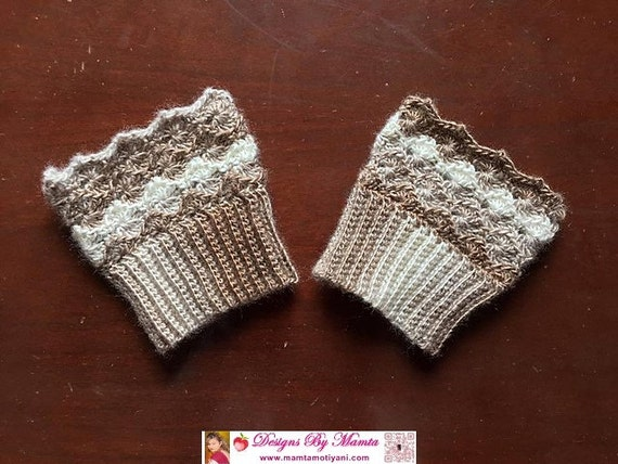 Crochet Boot Cuff Easy Pattern : Unique Crochet Boot Cuff Pattern Toddler Boot Cuffs Boot ...