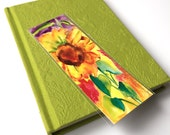 Sunflower Splash Bookmark gift with purchase of 15 dollars. Beautify your book,instead of folding corners.