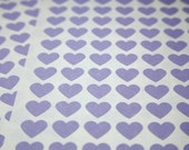 108 Purple Heart Stickers - FREE SHIPPING with other purchase