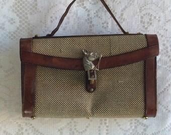 Vintage John Romaine Horse Bag