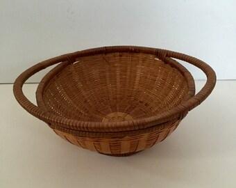 Vintage Serving Basket, Shabby Chic Decor