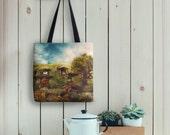 The Shire Tote Bag // My Dream Hobbit House Eco Friendly Bag