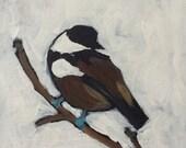 Original Art - Chickadee IX
