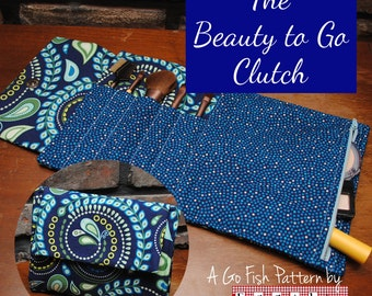 The Beauty to Go Clutch (Instant Download) The Go Fish Series