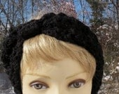 RESERVED for Deb Headband Ear warmer Turban Crochet Women or Teen Fashion FREE SHIPPING