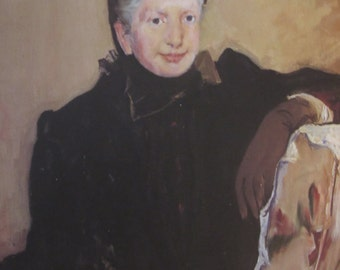 Mary Cassatt- Portrait of an Elderly Lady, 1887, Color Plate/ Book Print/8 x 10 in