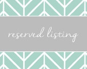 Resered Listing for Whitney