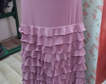 MAYA flamenco skirt **New**  flamencita design. Tribal fusion ,spanish skirt.