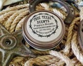 Puppy's Breath -  4 oz mason jar western cowboy candles