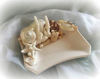 Seashell Bounty Trinket/soap dish